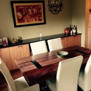 Dining Room Renovation in Victoria, BC