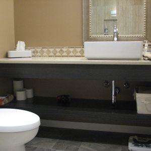 Bathroom Renovation Storage