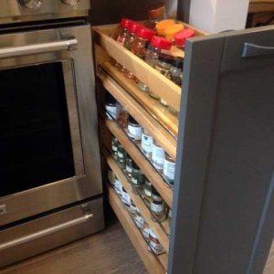 spice rack storage cabinet