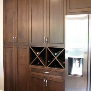 Wood Cabinetry storage