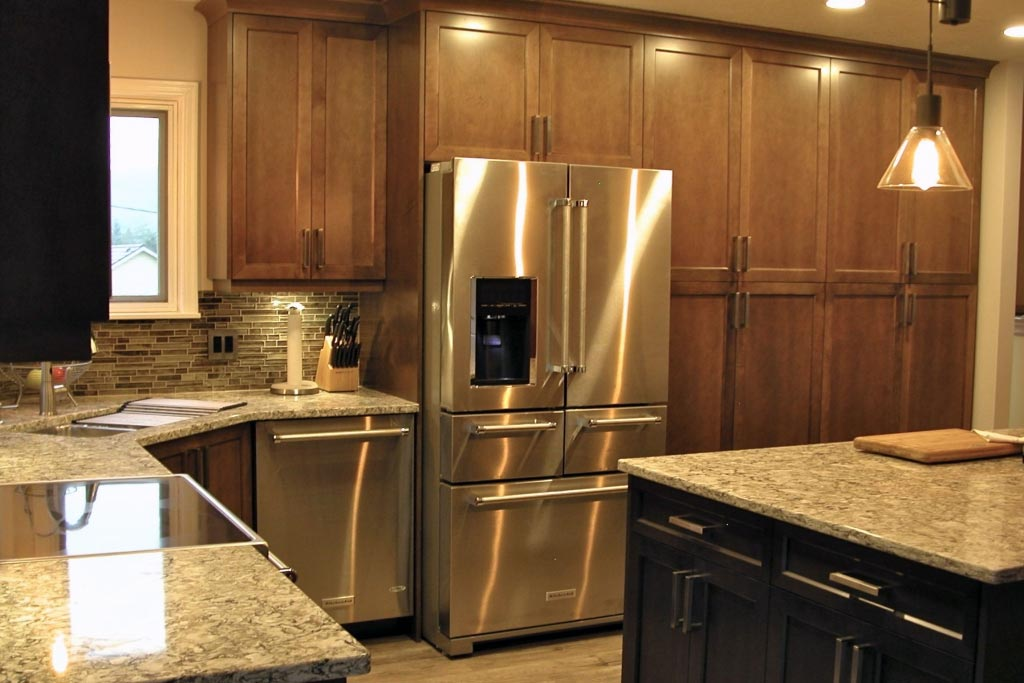 Home Kitchen Cabinetry And Cabinet Refacing In Victoria Bc